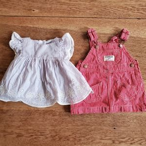 6 Months Girls Spring and Summer Dresses